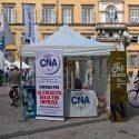 Mercato artigianale in piazza Napoleone