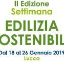 Settimana dell'edilizia sostenibile – 18/26 gennaio 2019
